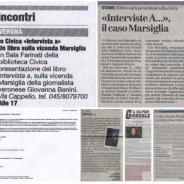 "Rassegna stampa su ""Intervista a…"""